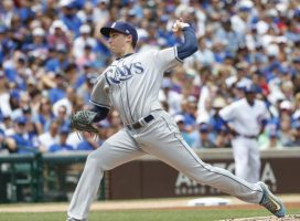 Tampa Bay Rays halt Chicago Cubs' seven-game win streak
