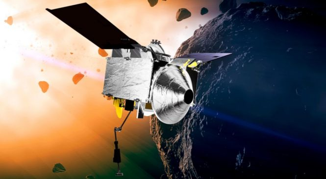 NASA's asteroid chaser swings by Earth on way to space rock