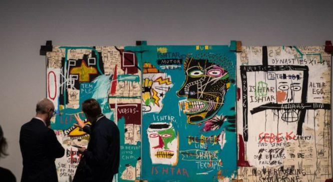 First major Jean-Michel Basquiat exhibition in UK