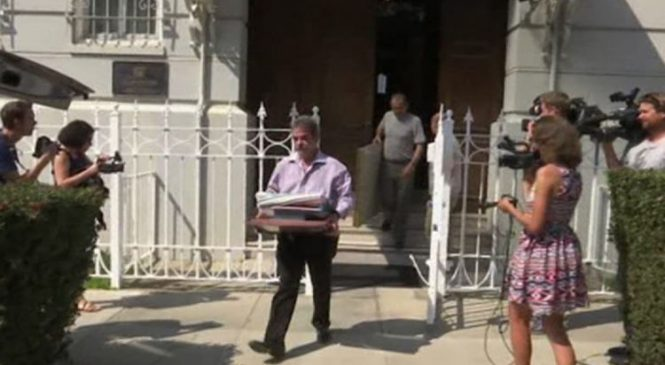 Mystery smoke at Russian consulate as staff leave