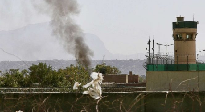 Taliban claims it targeted US defense chief's plane in attack on Kabul airport