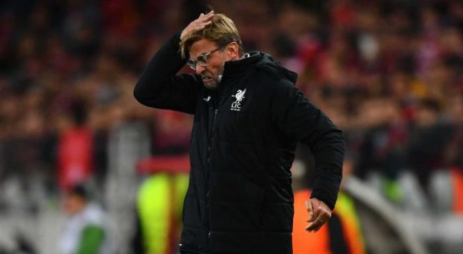 Liverpool FC news: Jurgen Klopp blames Reds' draw with Spartak Moscow on bad luck