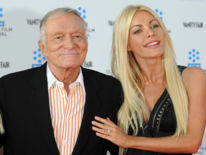 Hefner married his third wife Crystal Harris, 60 years his junior, in December 2012