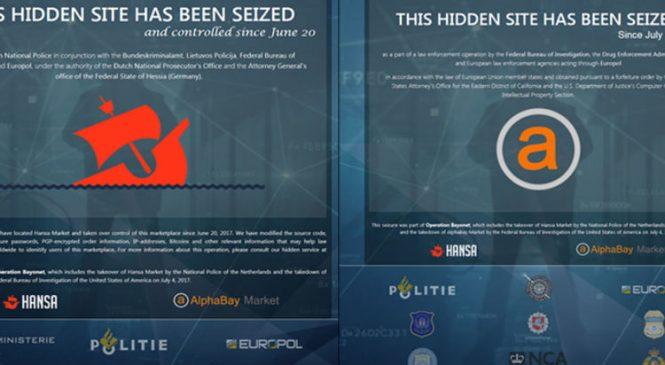 Criminals worry as dark net markets disappear