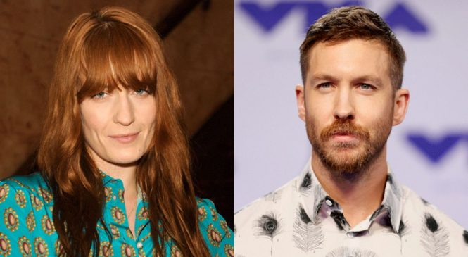 Florence and Calvin Harris upset at Tory conference music