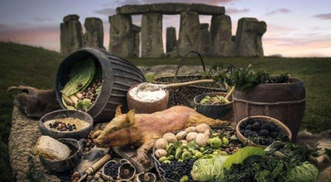 Stonehenge builders 'ate food from Scotland'