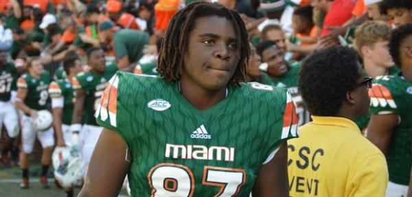 Michael Irvin Jr.: Miami Hurricanes TE and son of NFL Hall of Famer suspended indefinitely