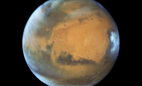 Mimetic Martian water is highly pressurized, experiments show