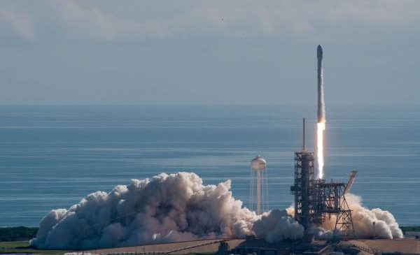 Reused SpaceX rocket to carries satellite into orbit