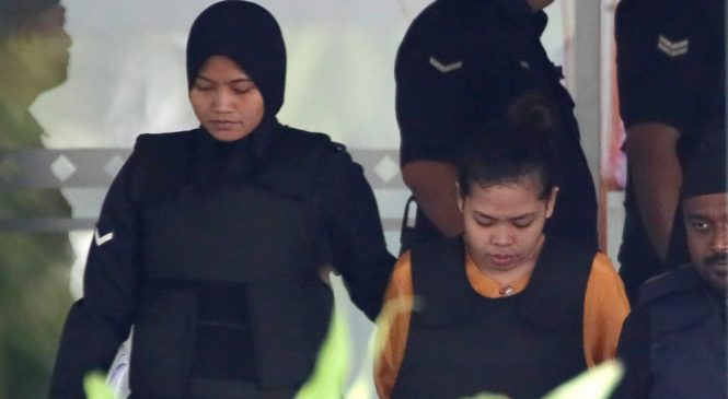 Chemist says VX traces found on both suspects in Kim murder