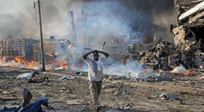 The Latest: Death toll from Somalia blast rises to 276