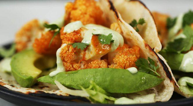 Cauliflower Buffalo Tacos Are the Perfect Meat Alternative