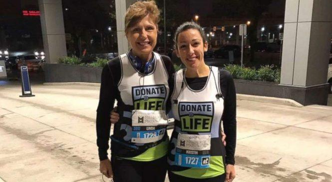 Heart transplant survivor runs half-marathon with her team of doctors
