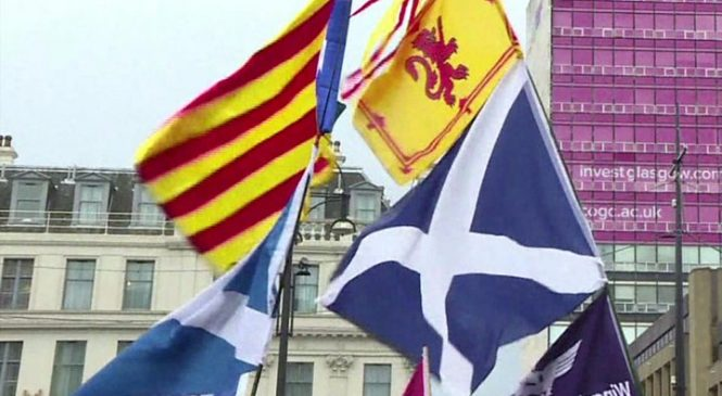 Catalonia independence declaration signed and suspended