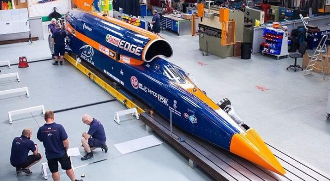 Bloodhound supersonic car set for first public runs