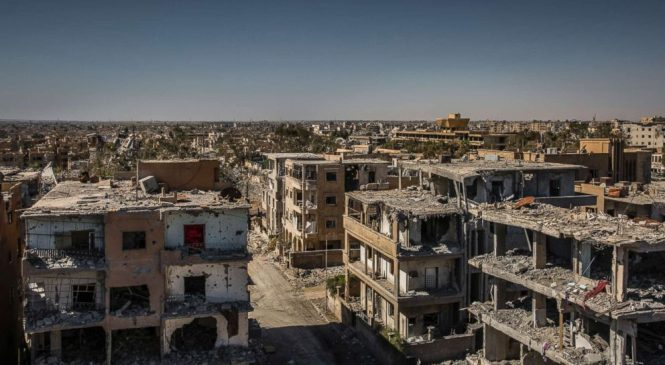 Drone footage captures apocalyptic aftermath of ISIS in Raqqa