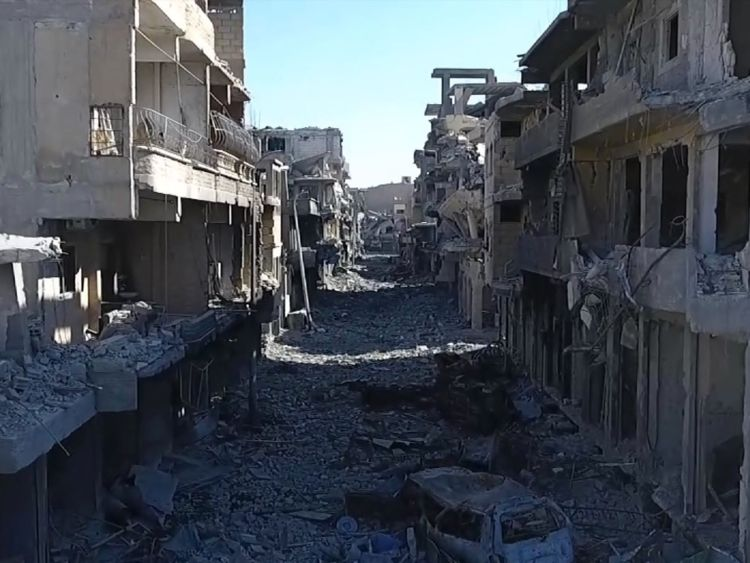 IS have been defeated in Raqqa, but the city has paid a high price