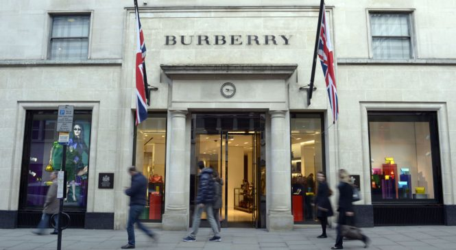 Burberry to shut stores in 'unluxurious' areas