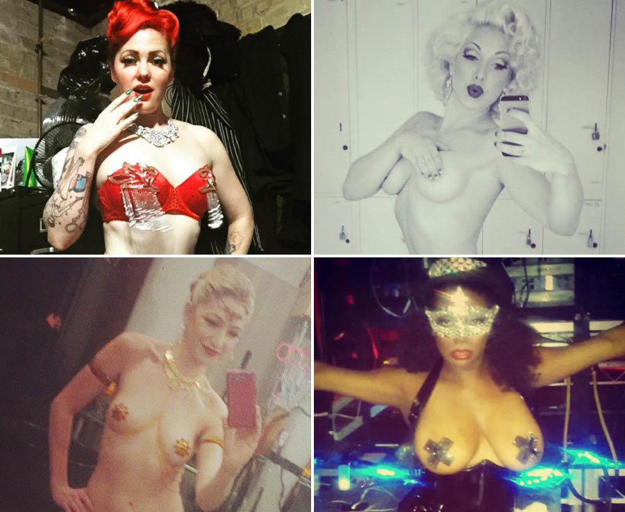 The sexiest Burlesque dancers around