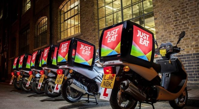 Just Eat set to join blue chip index after share price jump