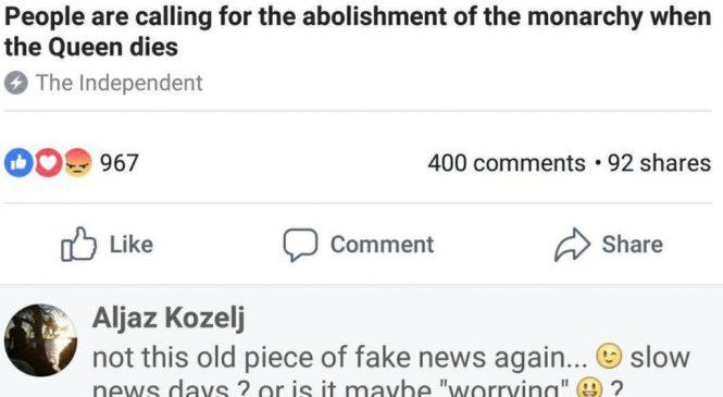 Facebook's fake news experiment backfires