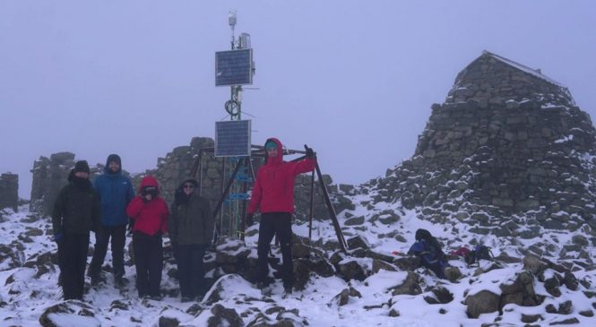 Ben Nevis gets automatic weather station