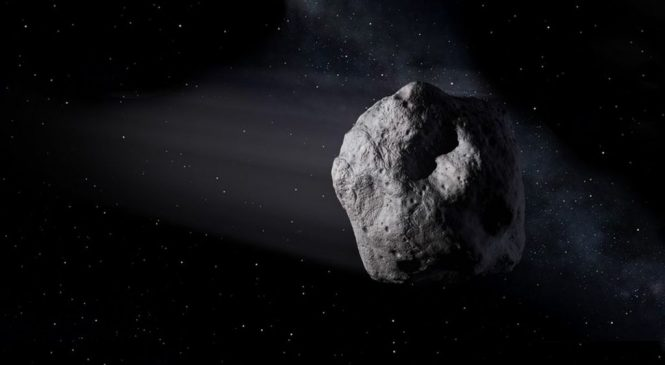 Interstellar asteroid is given a name