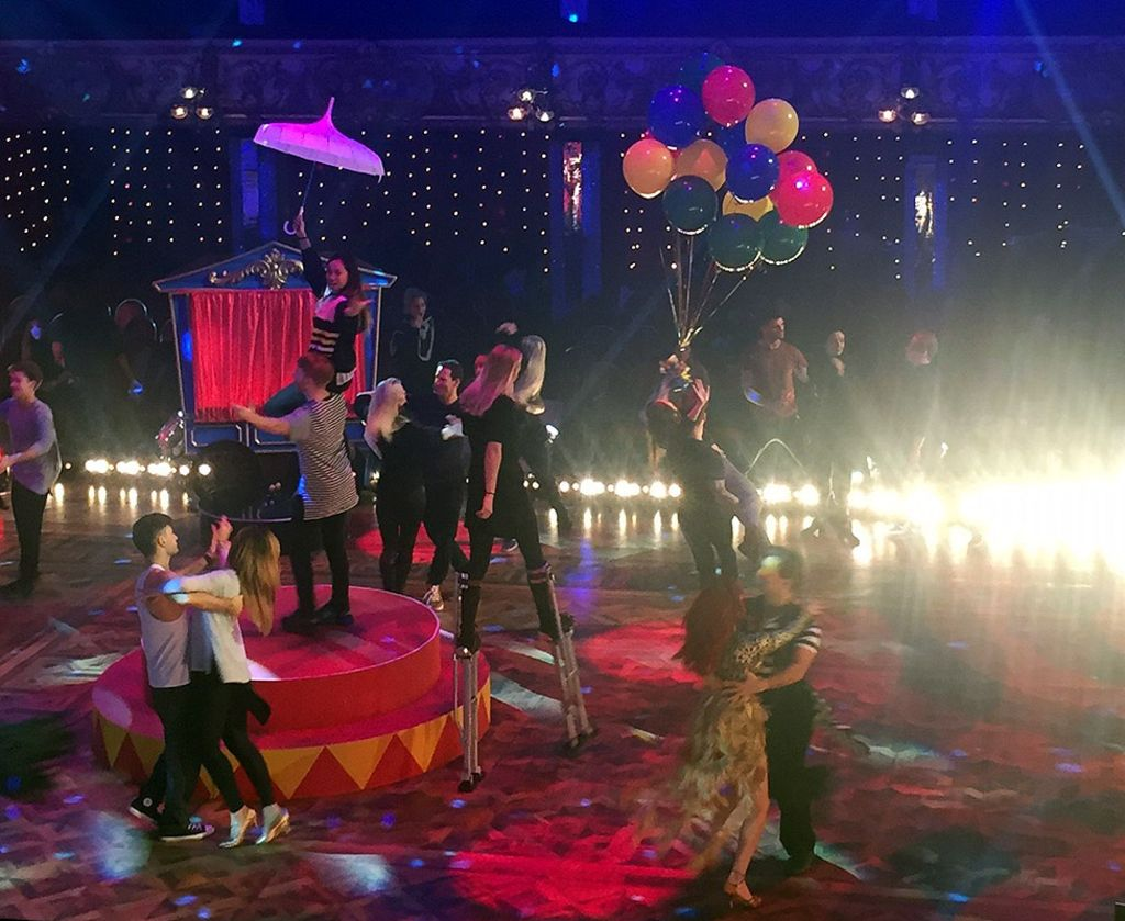 Strictly Come Dancing: Behind the scenes in Blackpool