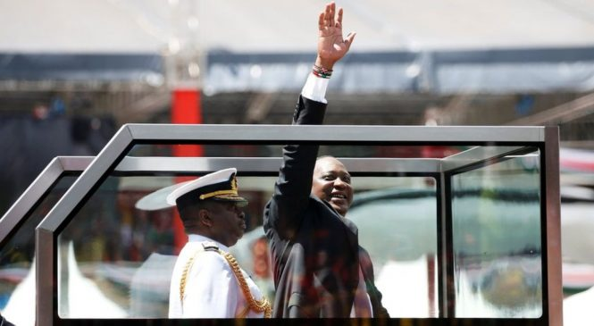 Kenya election: Kenyatta sworn in for new term