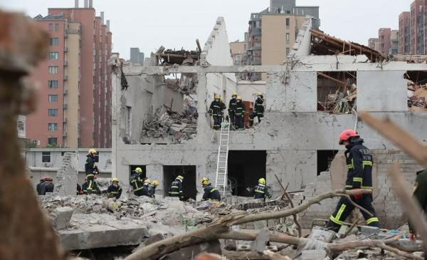 At least two killed in explosion near Chinese port city