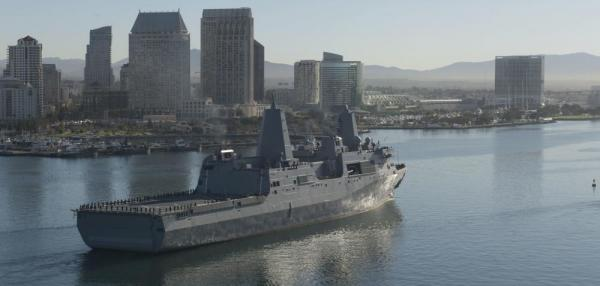 BAE contracted for fitting-out, post-shakedown efforts for Portland, Murtha LPDs