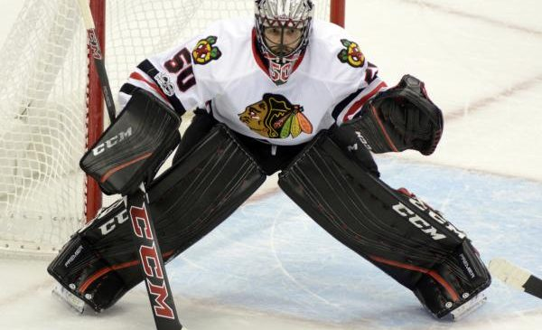 Chicago Blackhawks: Corey Crawford shuts down Minnesota Wild