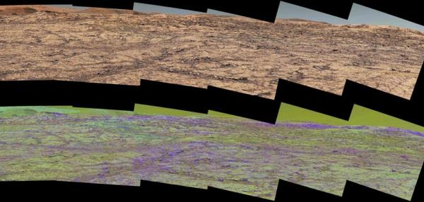 Color-discerning capabilities help NASA rover climb, study Mars mountain ridge