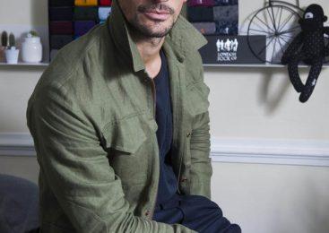 EXCLUSIVE: M&S hunk David Gandy promotes testicular cancer awareness