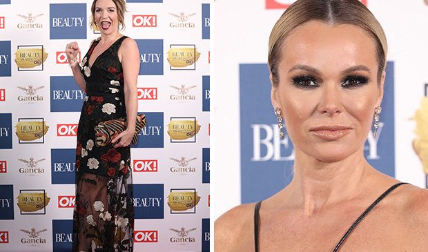 OK! Beauty Awards: Amanda Holden joined by Strictly stars and A-listers on red carpet