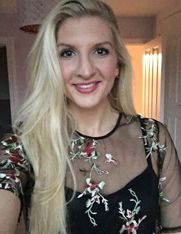 Rebecca Adlington in see-through dress