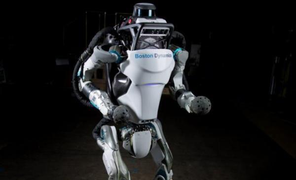 Watch: Boston Dynamics robot leaps, does back flips
