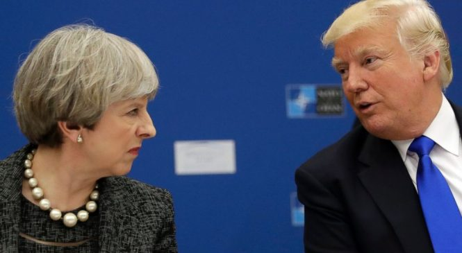 Trump lashes out at wrong Theresa May on Twitter
