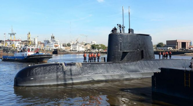 Signals from missing Argentine sub give hope for rescue effort