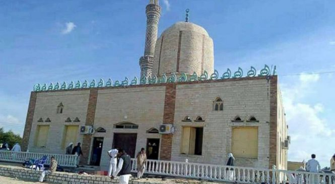 At least 235 killed in 'horrific' attack at Egypt mosque