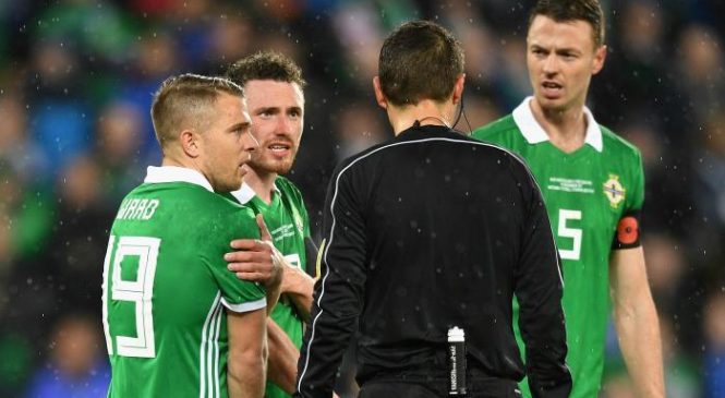 Northern Ireland 0-1 Switzerland: Green and White Army's World Cup hopes hang in balance