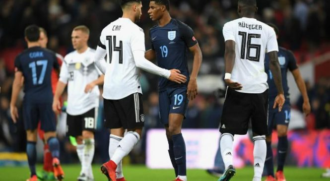 England 0-0 Germany: Three Lions hold world champions to goalless draw