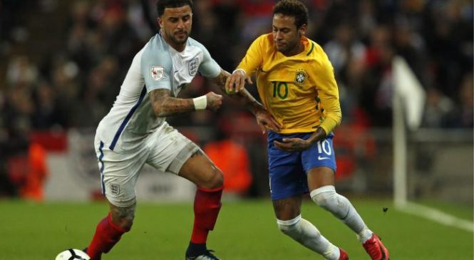 England 0-0 Brazil: Three Lions hold out Neymar and company