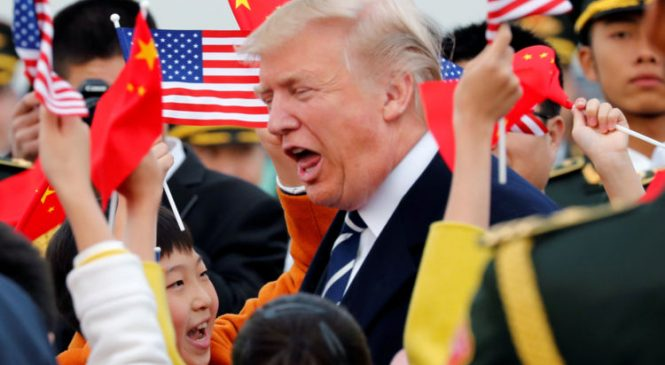 Trump challenges China over North Korea