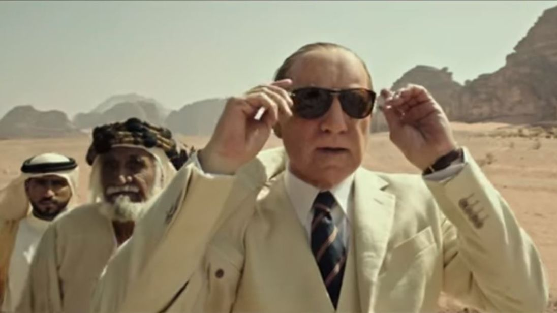 Kevin Spacey in the trailer for All The Money In The World. Pic: Sony pictures