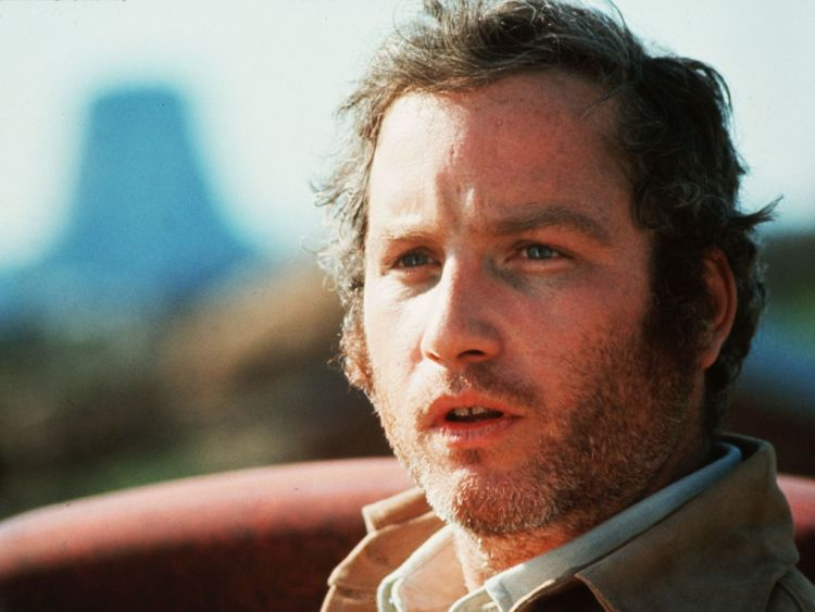 Richard Dreyfuss in Close Encounters Of The Third Kind