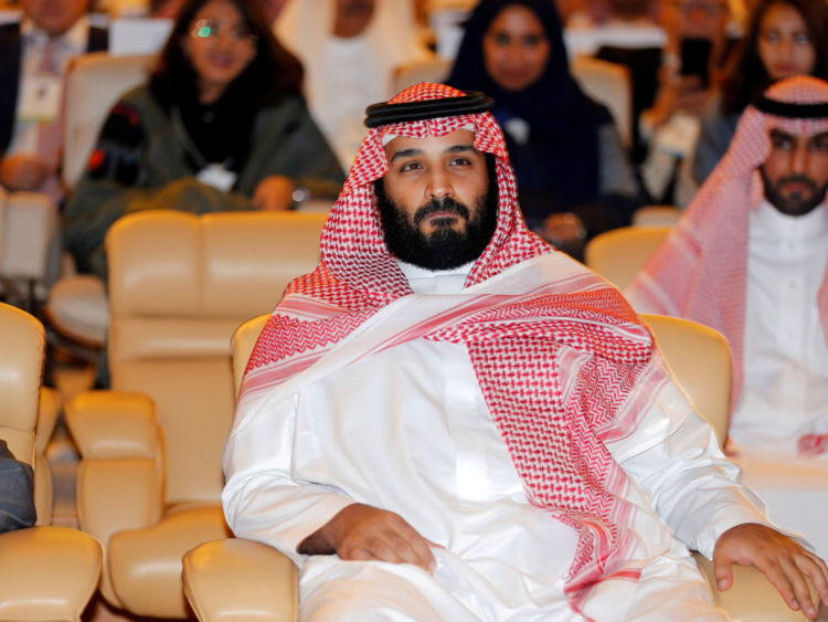 FILE PHOTO: Saudi Crown Prince Mohammed bin Salman, attends the Future Investment Initiative conference