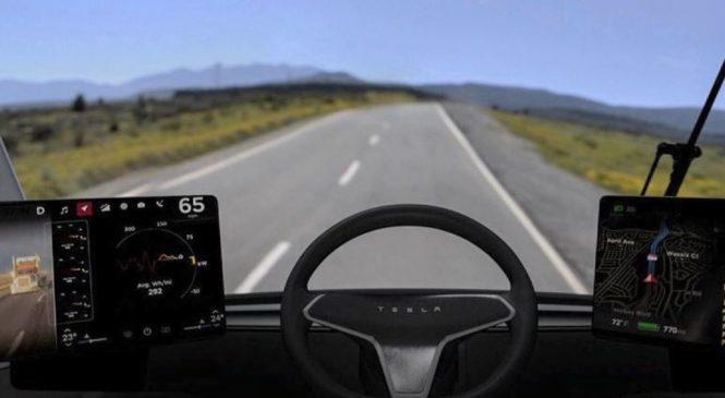 Elon Musk unveils Tesla Semi electric truck