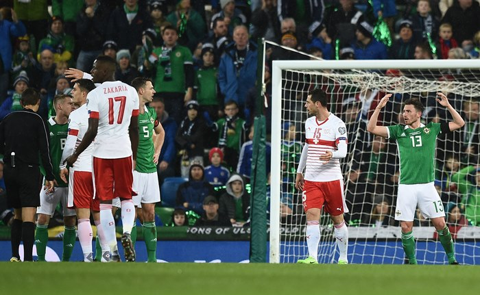 Listen: 'It was an astonishing decision' – Former Northern Ireland star slams Romanian referee for penalty call