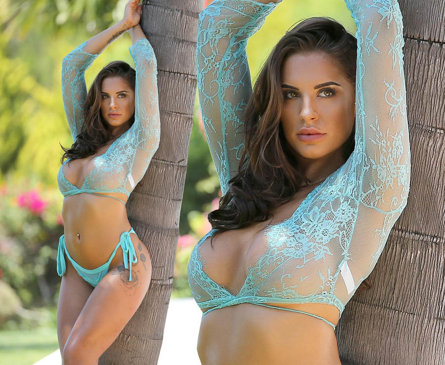 Jessica Shears' sizzling lingerie shoot